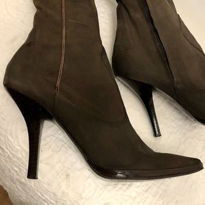 GUC Nine West suede Boots 6.5